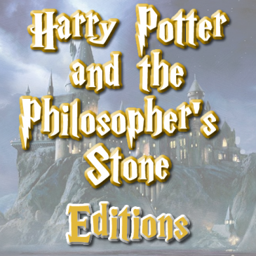 Harry Potter and the Philosopher's Stone: Editions