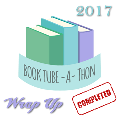 BookTube-A-Thon 2017 – Wrap Up