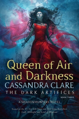 Cover Reveal: Cassandra Clare – Queen of Air and Darkness