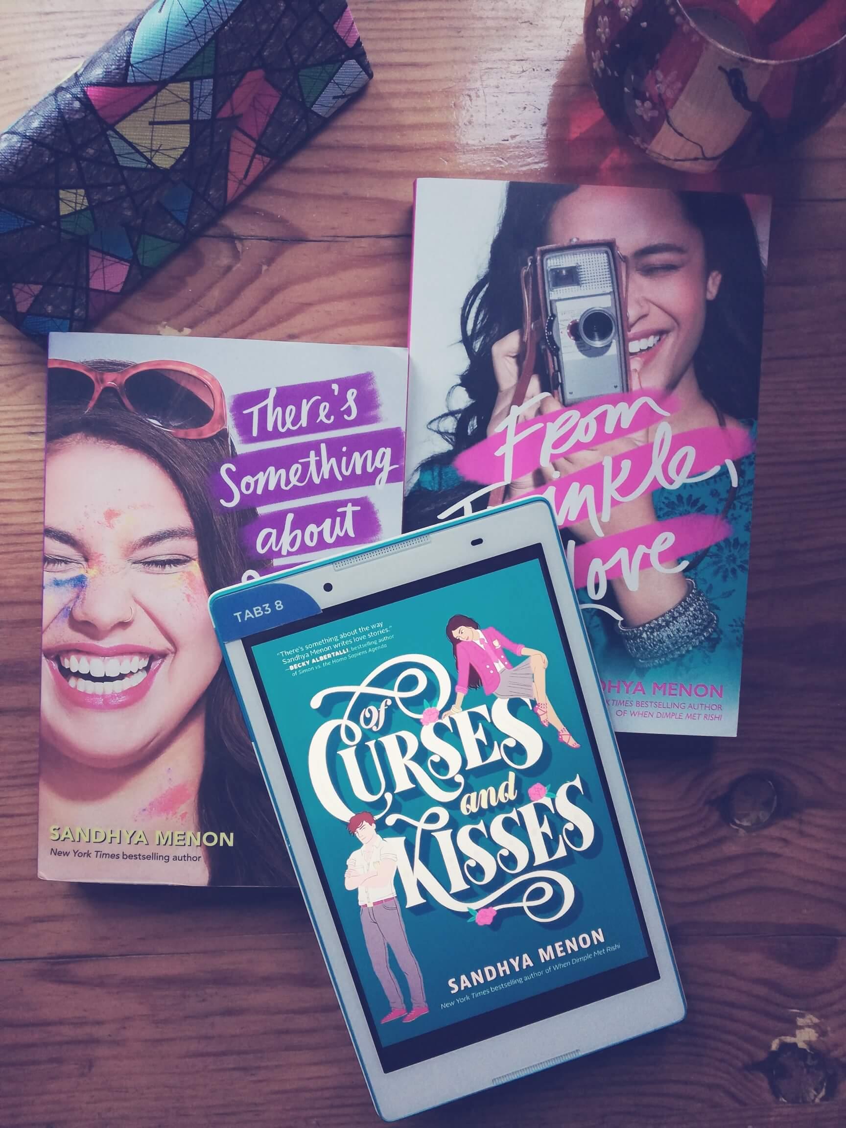 Blog Tour: Of Curses and Kisses на Сандия Менън
